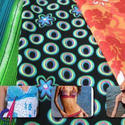 Hot sale Printed Nylon/Spandex Tricot for swimwear