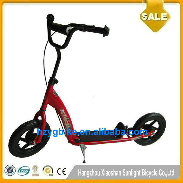 CE /EN/SGS 12 inch Kick Scooter Hangzhou Wholesale High Quality Air Wheel Scooter Child Kick Scooter