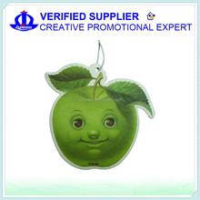 wholesale manufacture Paper air freshener for car customized hanging paper car air freshener