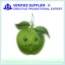 wholesale manufacture Paper air freshener for car customized hanging paper car air freshener