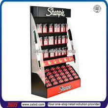 TSD-M434 Sharpie pen metal hanging display racks/pen and pencil display rack/pen display stand