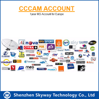 iks europe cccam account for SKY Deutschland by skyway