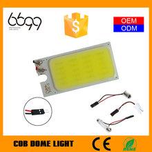 12v cob led dome light for car led roof light cob