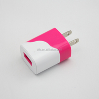 Durable Colorful Universal Dual Port USB Wall Charger for iPad Air for iPhone