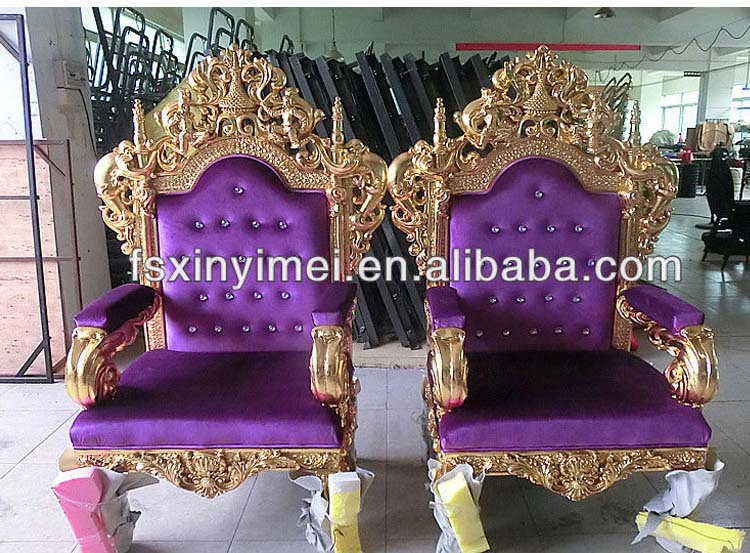Home Furniture High Back Throne Chair