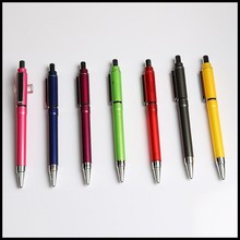 gift item from Guangzhou plastic ballpoint pen brands with custom color