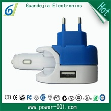 5v 3.1a usb car wall charger manufacturer for ipod touch with wholesale price