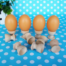 20*35mm natural Wood Egg Stands for kitchen use or kids play