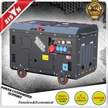 BISON(China) 8KW Electric Start HONDA Sale Silent Diesel Generator