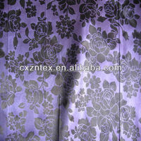 rose woven satin fabric wholesale