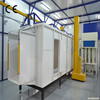 Professional industrial powder coating and steel substrate electrostatic spray paint booth