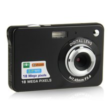 2.7inch 18.0MP 8X Digital Zoom Cheap Digital Camera with Taking Photo/Video Record/Self-timer/Anit-Shake/Face Detect