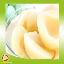 new crop white peach sliced halves canned white peaches