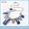 2015 blue sapphire tassel Vintage Turquoise Bib necklace accessories for women