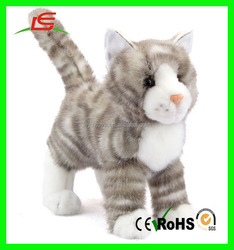 Custom factory supply directly high quality cute stuffed toys soft plush cat