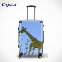 Carry on Leisure Airport Luggage Trolley/New Style Luggage/1680D China Supplier Fashionable Leisure Travel Trolley luggage Set