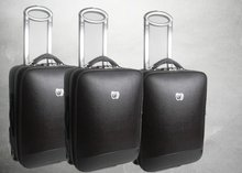 Fashional PU Trolley Luggage Case 2012