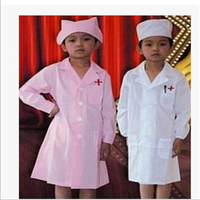 doctor pink lab coats wholesale for children / kids