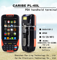 CARIBE PL-40L AM007 touch screen rugged handheld android rfid reader phone