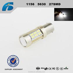 1156/BA15S/P21W 5630 27SMD Car Reversing lights Turn signal bulb