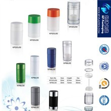 30g 50g Round deodorant stick container for body skin
