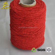 acrylic polyester blended yarn for making blankets
