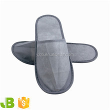 Gray Nonwoven Disposable Hotel Bath Slippers