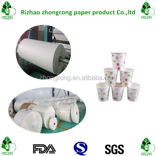 high grade paper with one side poly coated