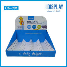 toothbrush paper counter top display for retail