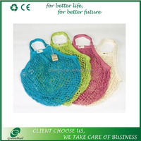 Many colors fashion vegetables fruits bags cotton net bag mesh bag