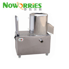 Potatoes/sweet potatoes/carrots/taro/ kiwi fruit vertical washing peeling machine