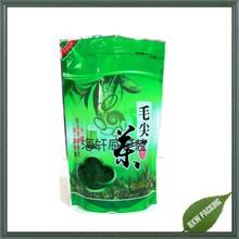 plastic bag for tea packaging /green tea bag /standup tea plastic bag