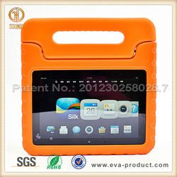 Kids Friendly Carry handle Light Weight EVA Shockproof Case Cover for Tablet 8.9