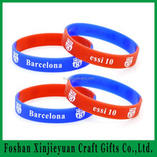 Silicone rubber bracelet hope faith silicone wristband