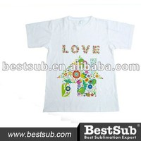 Polyester &Cotton Adult Sublimation T-Shirt (TSCP-A)