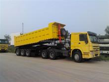 Dump semi trailer 60 tons tipper trailer for sale