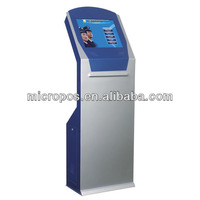 """17"""" / 19"""" indoor touch screen retail kiosk"""