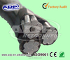 PVC HDPE XLPE insulation 95mm abc cable/ AAC AAAC ACSR cable