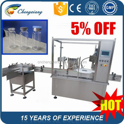 Hot sale automatic injection vial filling plugging and capping machine