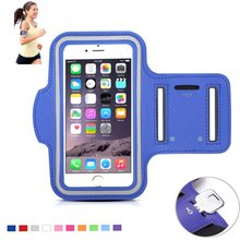 For Iphone 6/6s 4.7 inch Waterproof Sport Armband Case with Key Holder and Headphone Jack