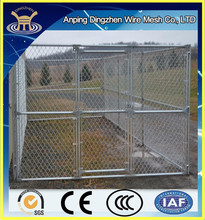 Outdoor dog kennel in large size