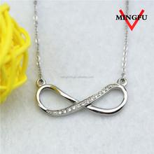 Mingfu korean fashion custom pendant surgical steel jewelry