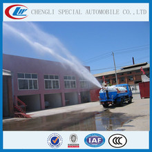 High pressure Cannon Street Sprinkler Tank Truck 10000l to 15000l Water Bowser FAW Watering vehicle
