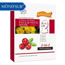 Good Quality Private Label Vitamin C Skin Whitening,Moisturizing and Hydrating Face and Neck Mask