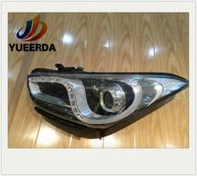 best selling car accessories12V headlight for elantra 2011 elantra 11head lamp,