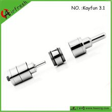 Hot selling high end RBA atomizer electronic cigarette push button