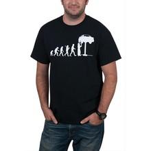 mens evolution printing durable big size t shirt