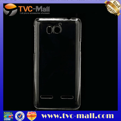 Slim Plastic Clear Crystal Case for Huawei Honor 2 U9508 / Ascend G600 U8950D