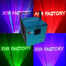 10w rgb outdoor text animation laser projector