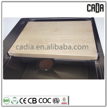 cadia high quality square solid wood kitchen cutting board